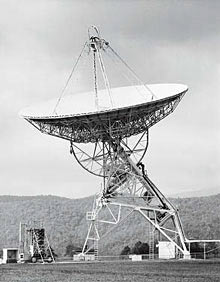radio dish used in Project Ozma