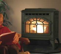 Quadra-Fire Mt Vernon wood/corn burning stove
