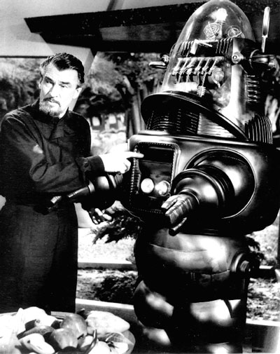 Robby the Robot and Dr. Morpheus