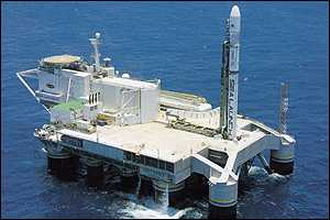 Sea Launch platform