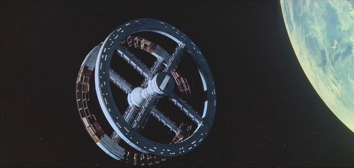 Space Station V from the film 2001: A Space Odyssey