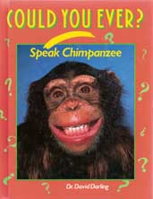 Could You Ever Speak Chimpanzee book cover