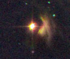 Hind's Variable Nebula and T Tauri
