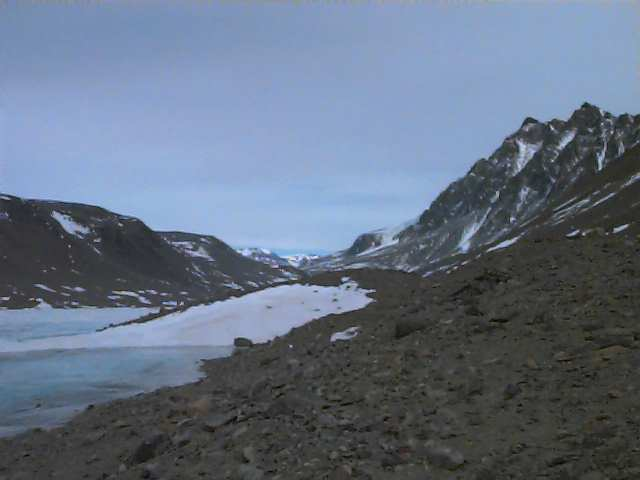 Taylor Valley, facing Suess Glacier