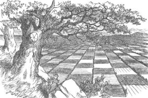 illustration from Through the Looking Glass