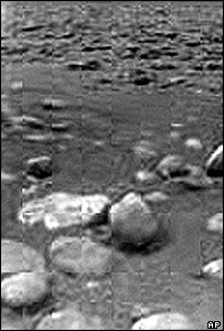Titan's surface from Huygens