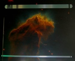 Voyager astrometric panel of the Eagle Nebula