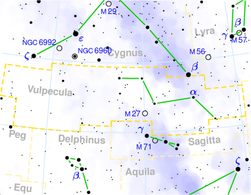 Vulpecula constellation