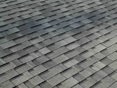 Asphalt roofing for Types of roof covering materials