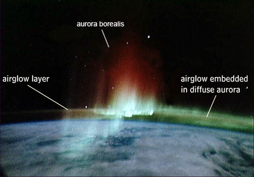 aurora and airglow