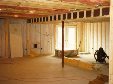 compared to insulating the basement ceiling insulating basement walls