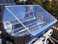 concentrating solar collector