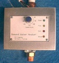demand water heater