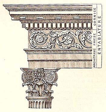 example of composite entablature
