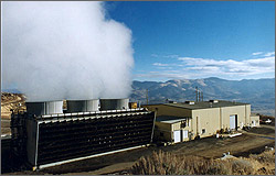 geothermal steam power plant