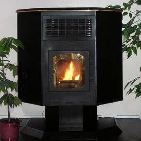 Envirotec grain-burning stove