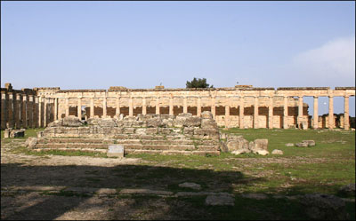 gymnasium at Cyrene