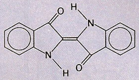 molecule of indigo