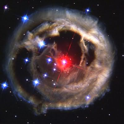 light echo from V838 Monocerotis