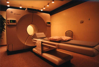 cardiac PET scanner