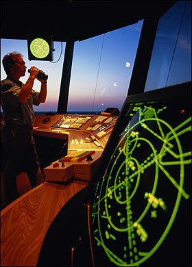 air traffic control radar