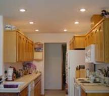 kitchen down lighting. Recessed Downlighting In A Kitchen Down Lighting
