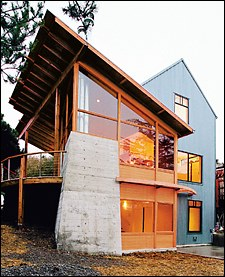 In Passive Solar Home Design, Exterior Roof Overhangs Provide A Practical  Method For Shading Building Elements Such As Windows, Doors, And Walls.