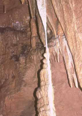 when a stalagmite and stalactite meet