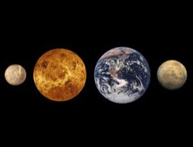 terrestrial planets of the solar system