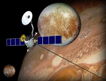 tethered propulsion system at Europa
