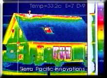 thermographic scan