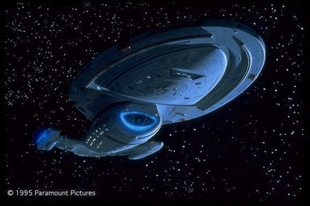 Star Trek's starship Voyager