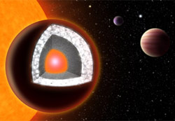 55 Cancri Ae may be a diamond planet