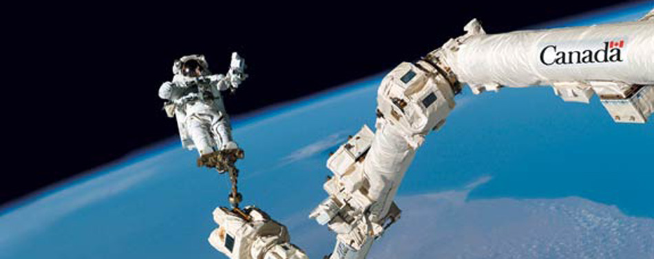 Canadarm_2_attached to the International Space Station