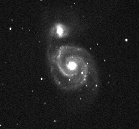 M51, image by James A. Hardy