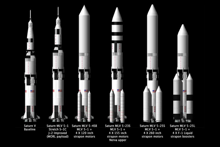 Saturn V upgrades