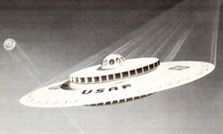 USAF design for a flying saucer