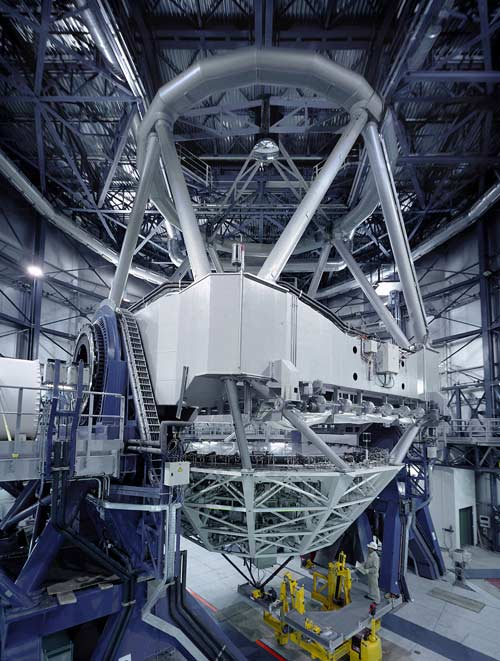 One of the Unit Telescopes of ESO's Very Large Telescope array