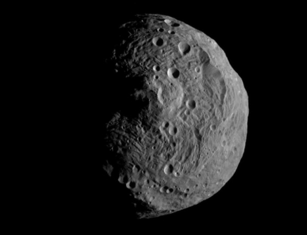 First image of the asteroid taken from orbit