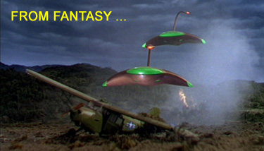 Scene from the film War of the Worlds