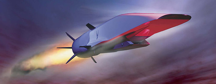 Artwork of X-51A Waverider in flight. Image credit: US Air Force