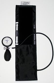 aneroid sphymomanometer with cuff