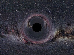 black hole artwork