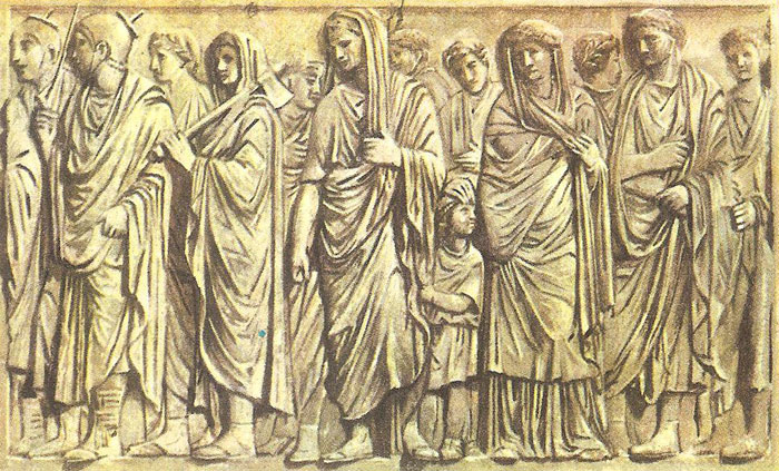 family of Augustus