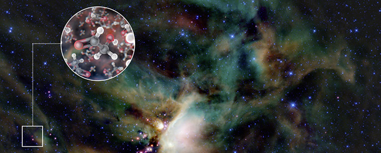 Gylcoaldehyde molecules found around a young star
