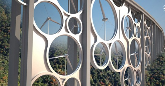 Wind turbine bridge