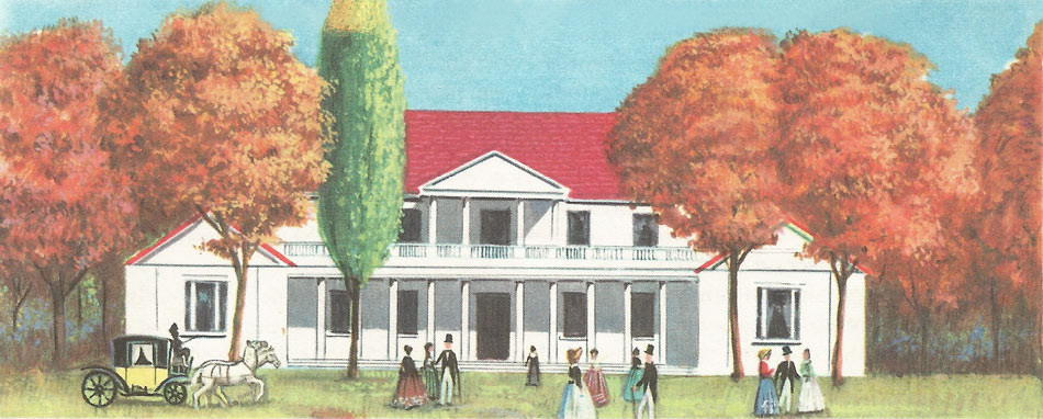 Jackson's home near Nashville, Tennessee, was called the Hermitage