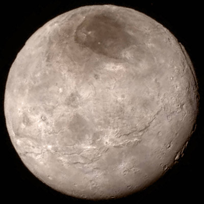 Image of Charon from New Horizons