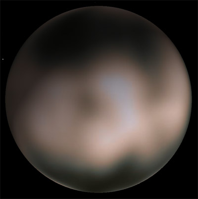 Image of Charon compiled from bightness variations