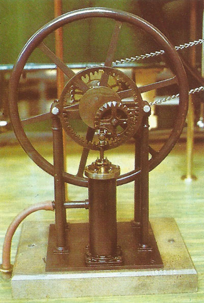 model of Felton and Murray's early steam engine